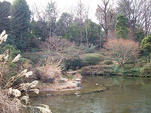 甘泉園の庭園