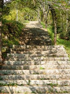 霊山神社の石段
